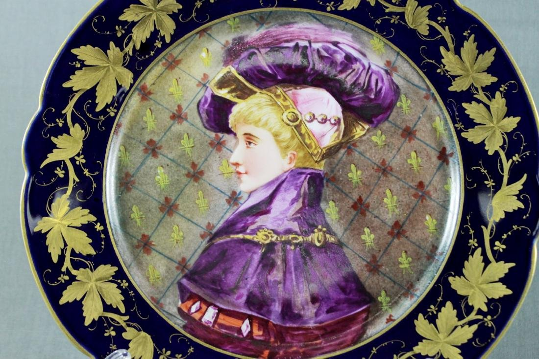 SEVRES  STYLE PLATE - 2