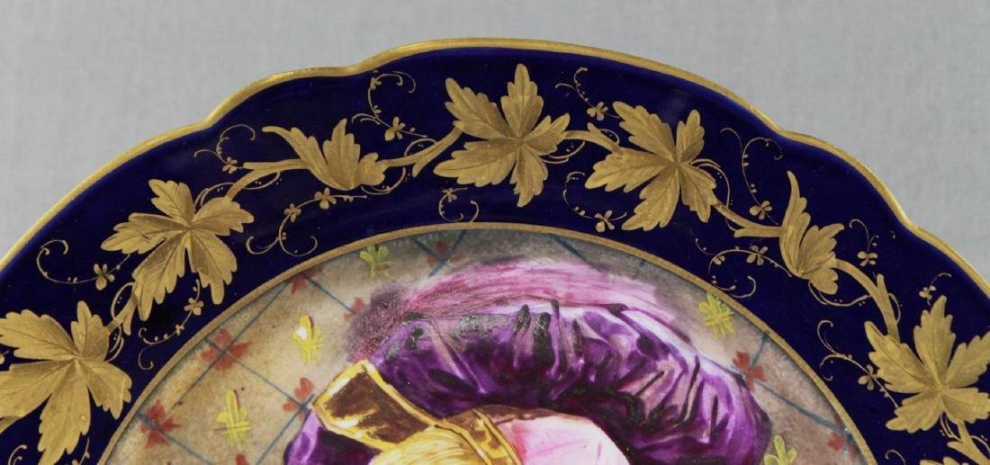 SEVRES  STYLE PLATE - 3