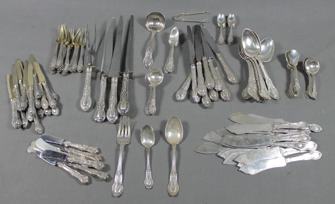 124 PC. SET OF MISC STERLING SILVER FLATWARE - 2
