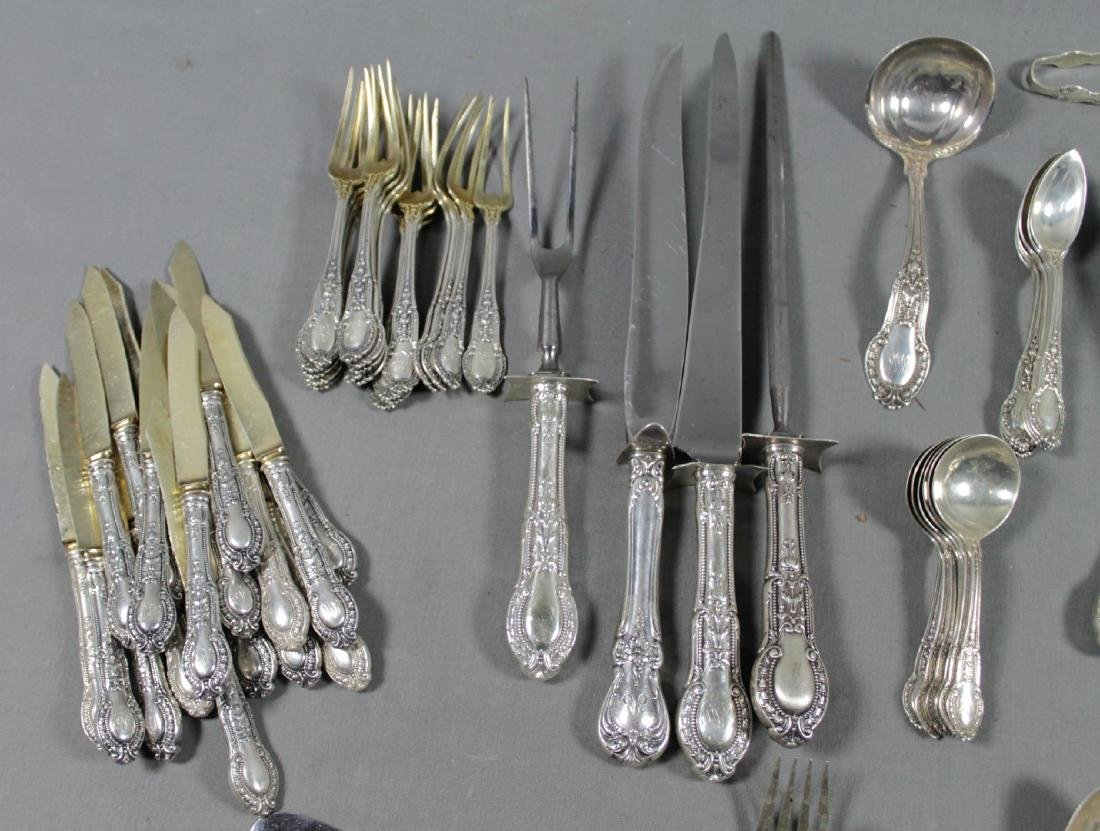 124 PC. SET OF MISC STERLING SILVER FLATWARE - 3