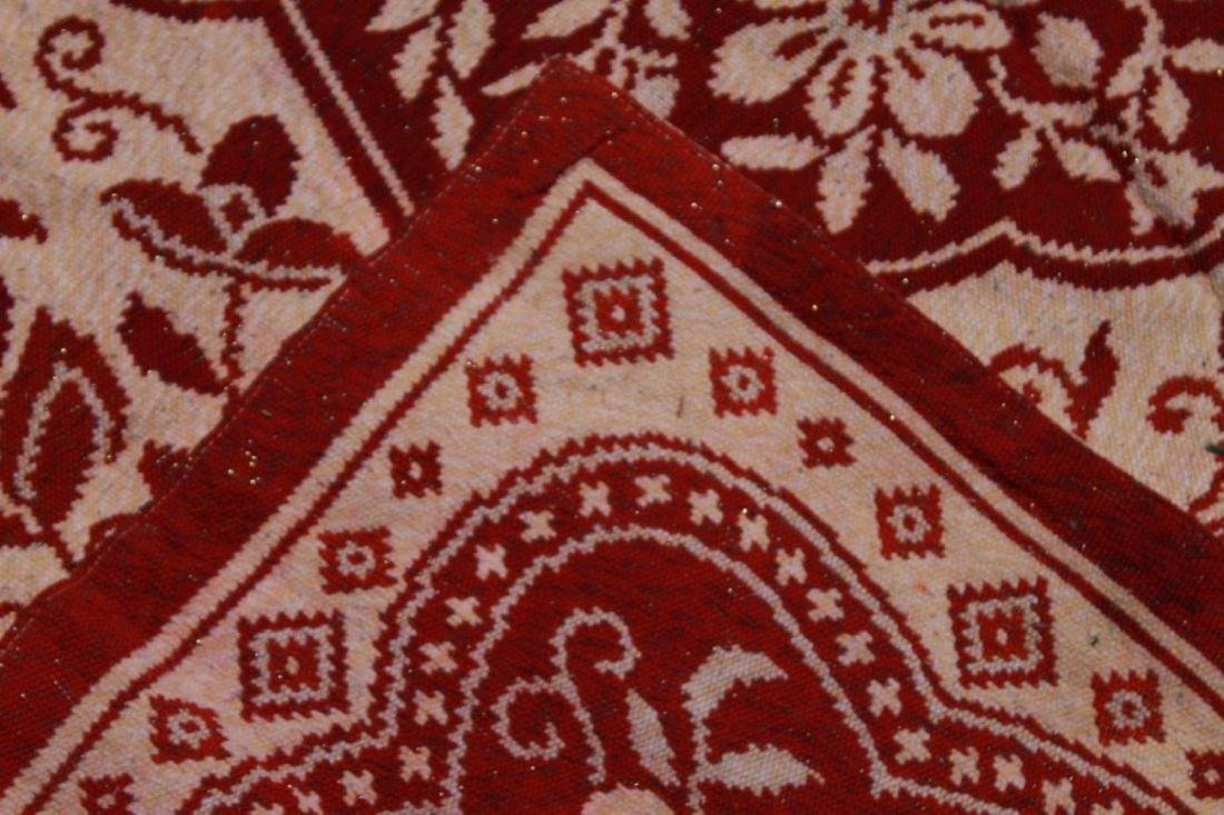 19TH C. MACHINE MADE RUG - 5