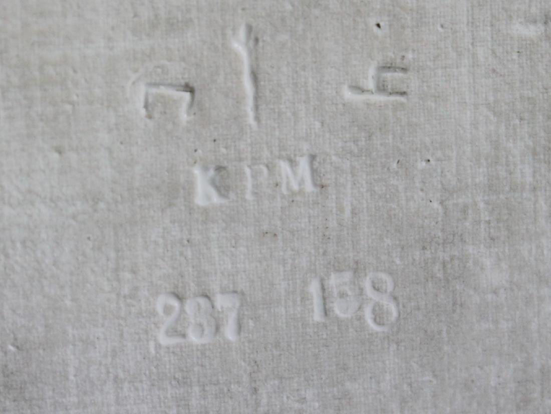 FRAMED WAGNER KPM PLAQUE - 4