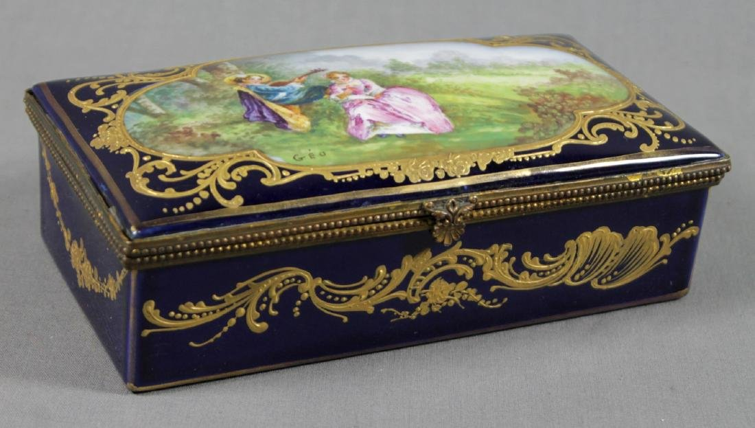 SEVRES STYLE BOX