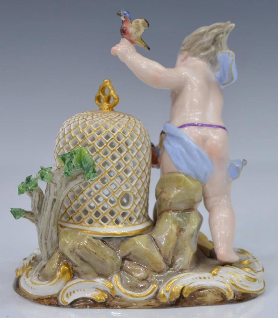 "19TH C. MEISSEN FIGURAL GROUP, ""AIR"", ELEMENTS SERIES - 3"
