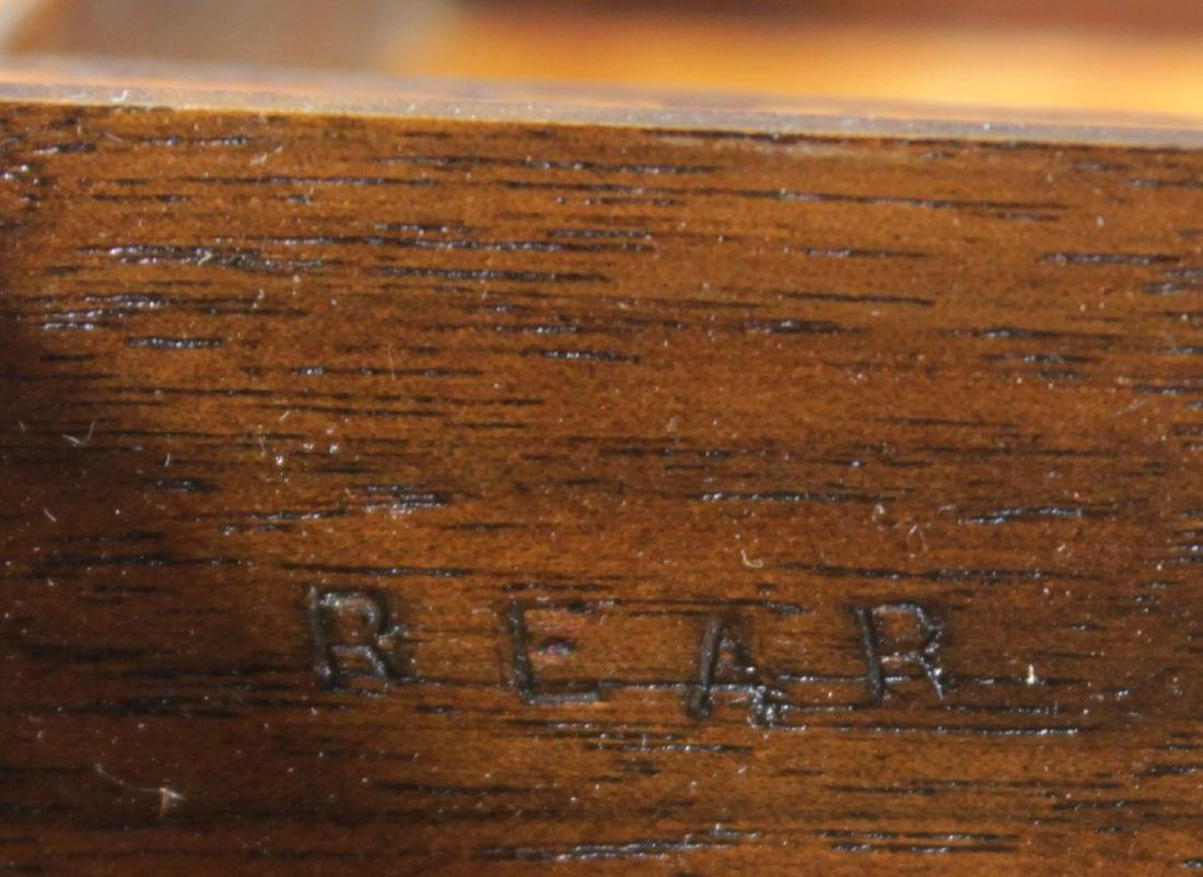 ANTIQUE CARVED WOODEN BOX - 4