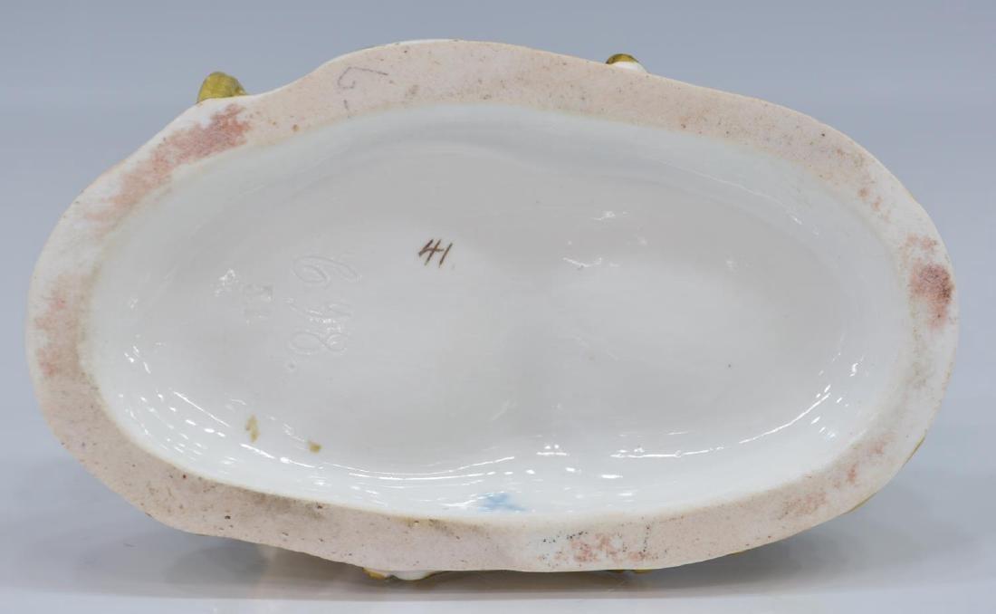 19TH C. MEISSEN PORCELAIN FIGURE, WATER, ELEMENTS - 4