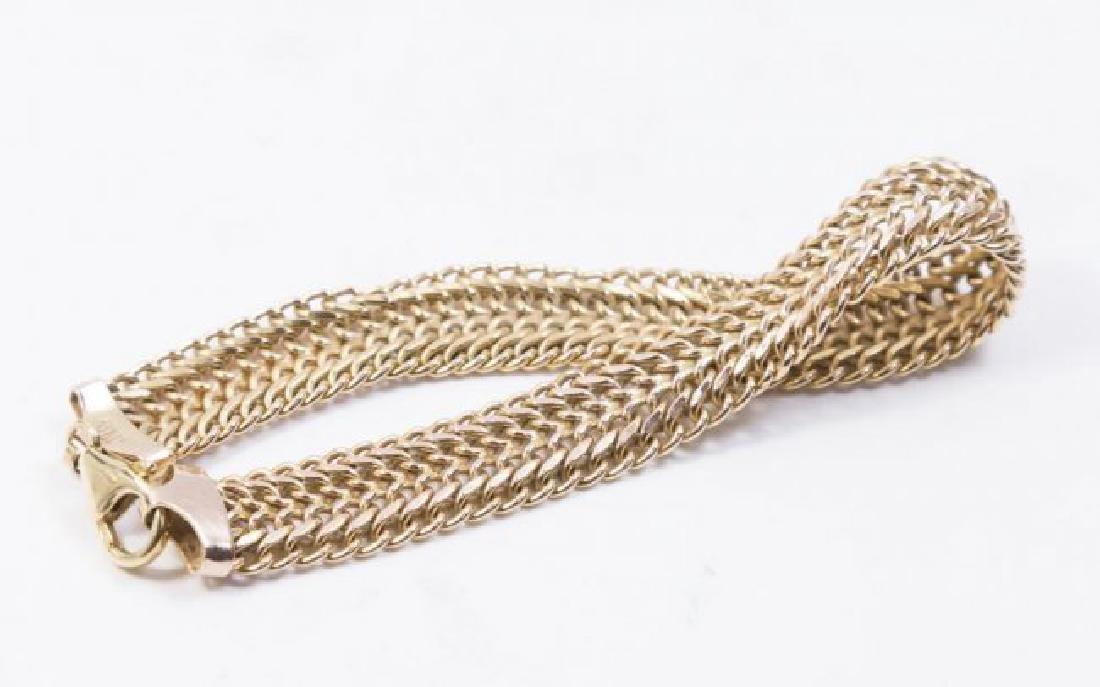 10K Gold Italian Bracelet