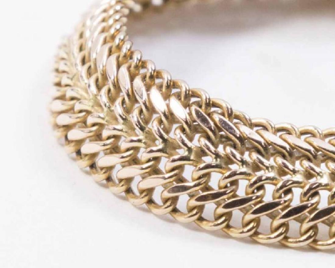 10K Gold Italian Bracelet - 2