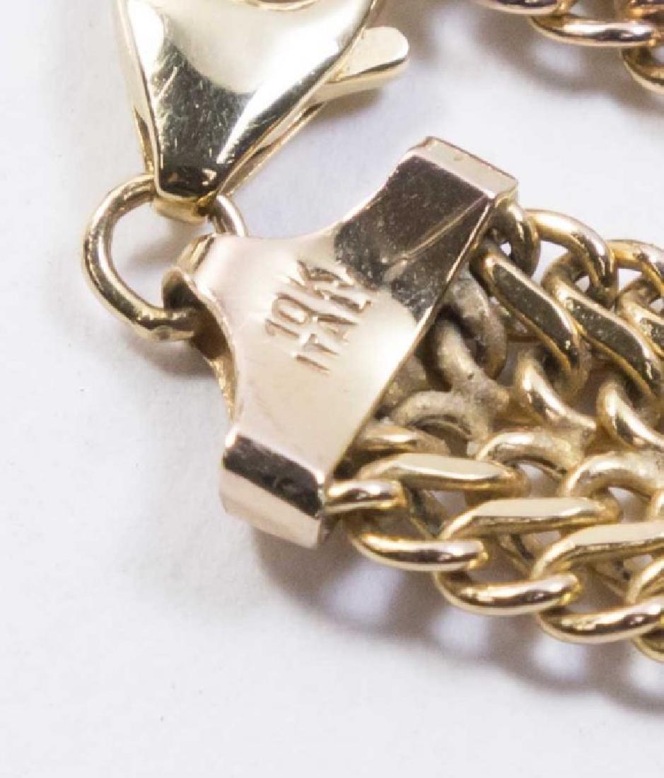 10K Gold Italian Bracelet - 3