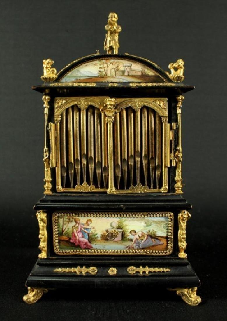 19TH C. VIENNESE ENAMEL JEWELERY BOX - 4