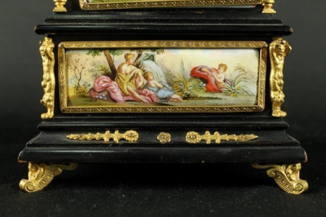 19TH C. VIENNESE ENAMEL JEWELERY BOX - 6