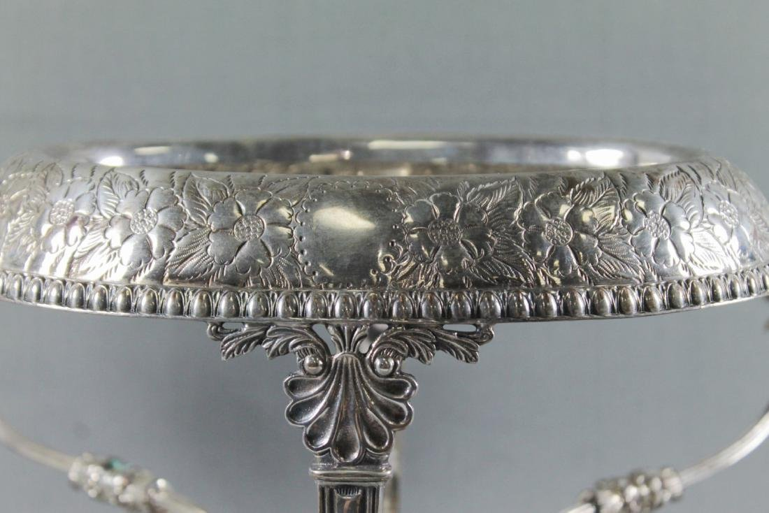 SILVER PLATED EPERGNE BASE - 2