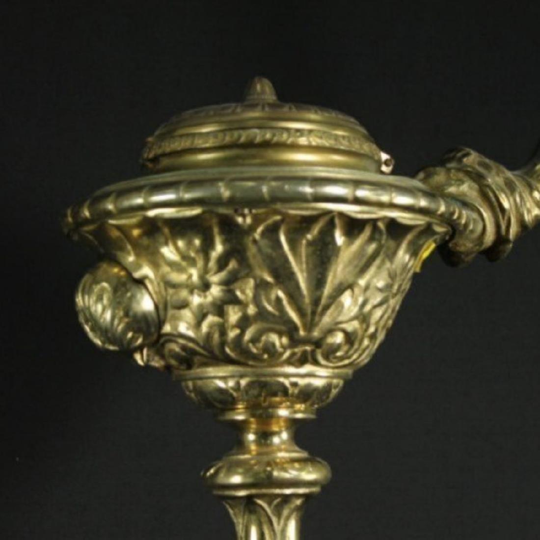 BRONZE FLOOR LAMP - 2