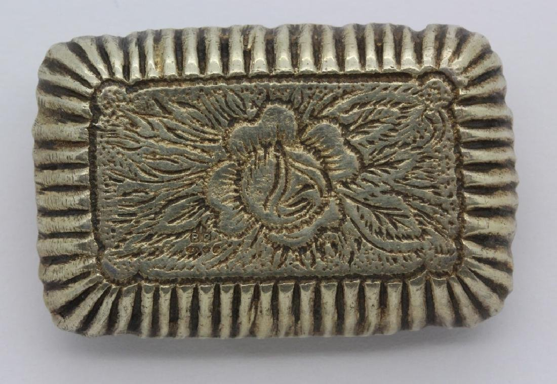 19th C. Victorian Gilt Silver Jeweled Enamel Viennese - 3