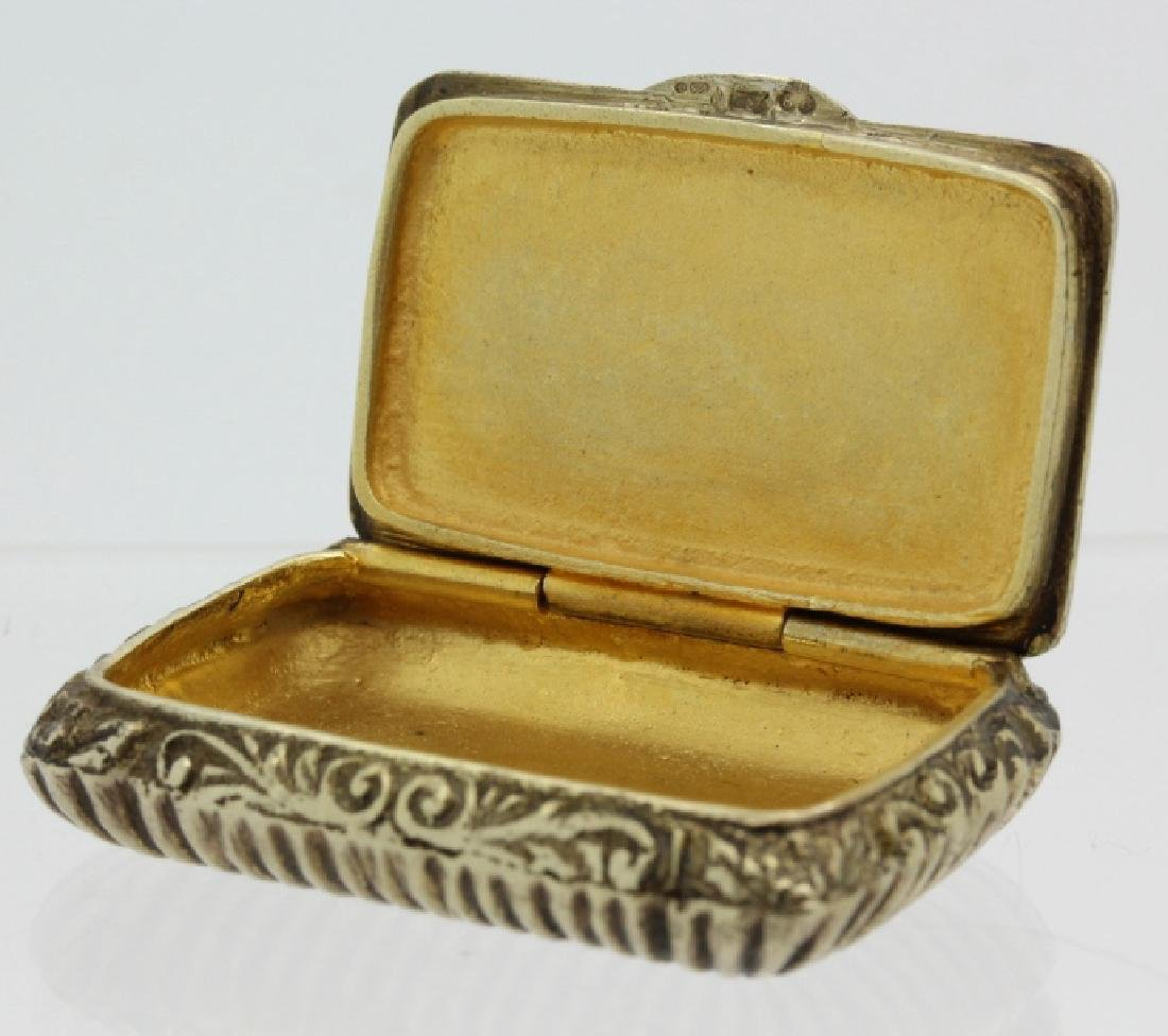 19th C. Victorian Gilt Silver Jeweled Enamel Viennese - 6