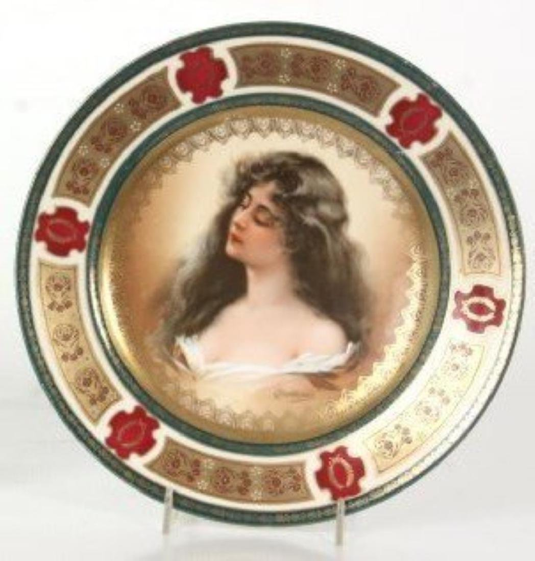 ROYAL VIENNA PORCLEAIN PLATE