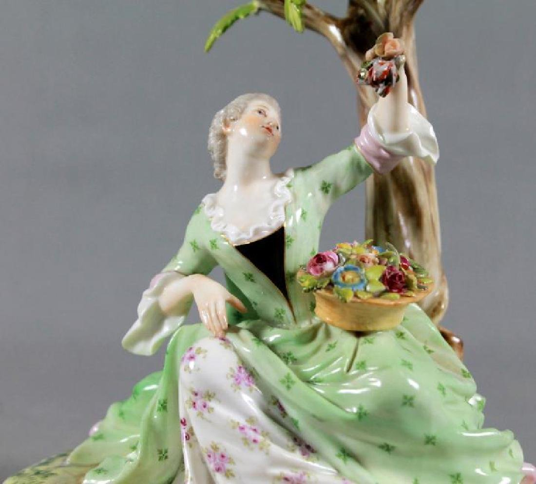LATE 19TH CENTURY MEISSEN PORCELAIN FIGURE - 2
