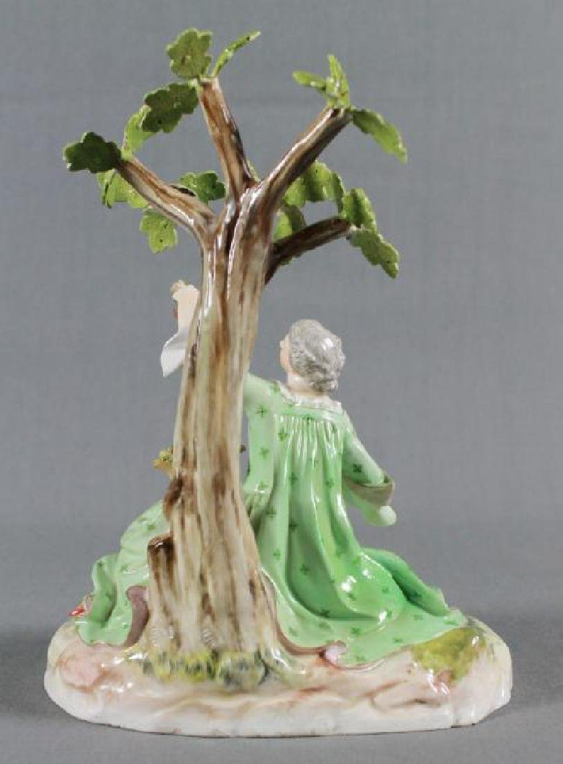 LATE 19TH CENTURY MEISSEN PORCELAIN FIGURE - 4