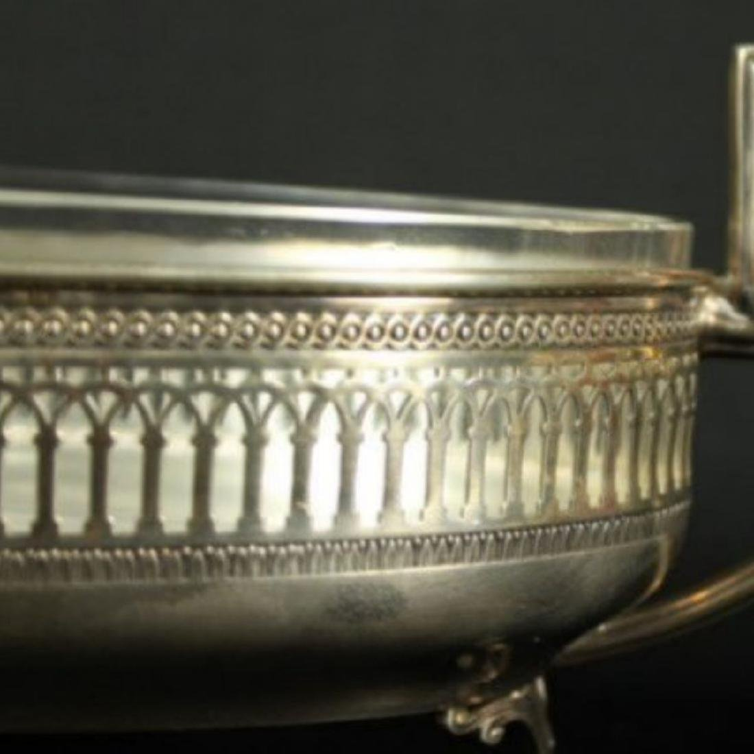 Early 20th c. German 800 silver center piece - 2