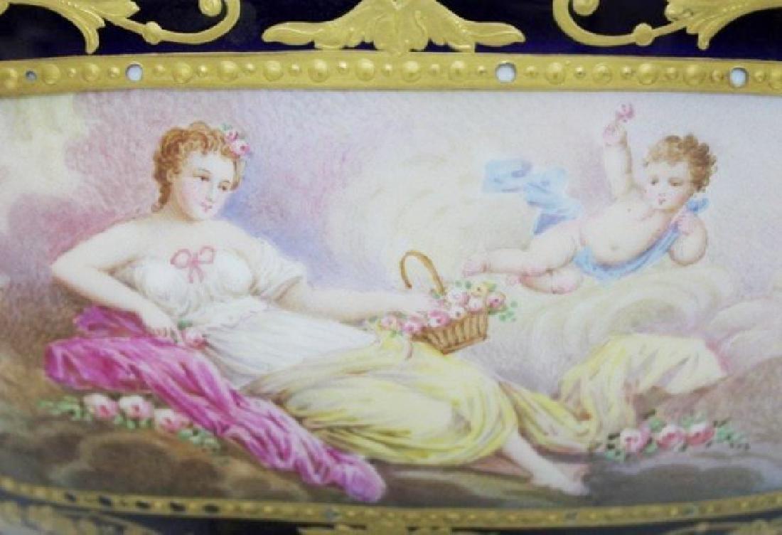 3 PIECE 19TH CENTURY SEVRES CANDELABRA SET - 3