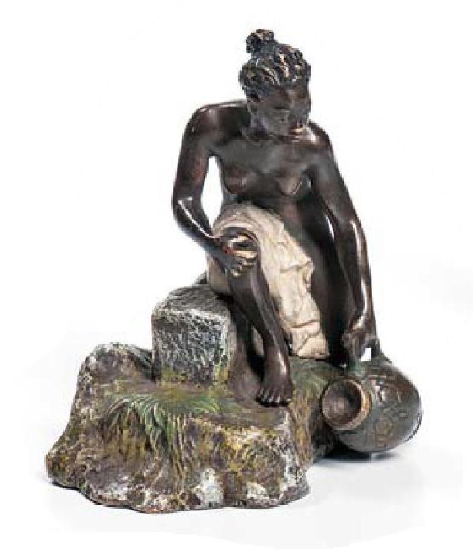 A Pair of Louis XV Style Gilt Bronze Seven-Light - 5