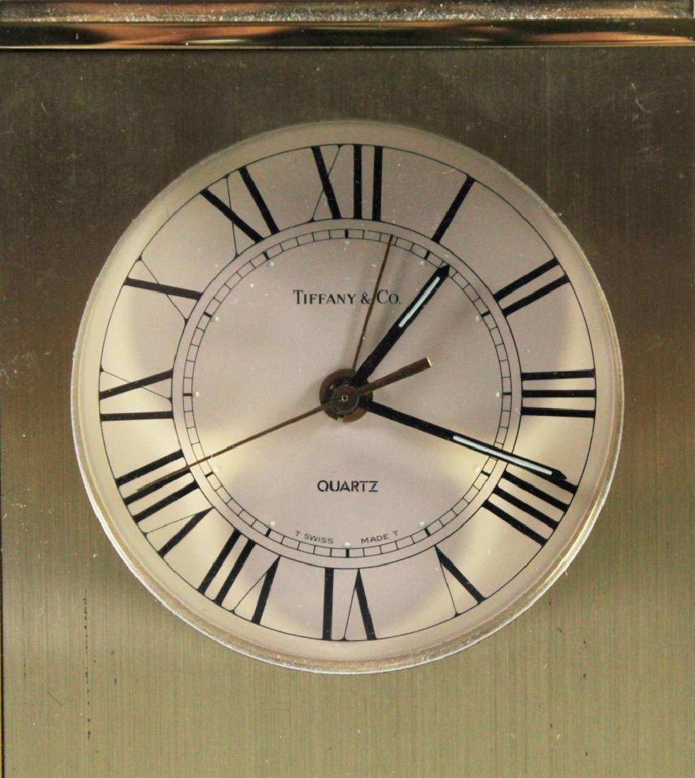 TIFFANY AND CO DESK CLOCK - 2