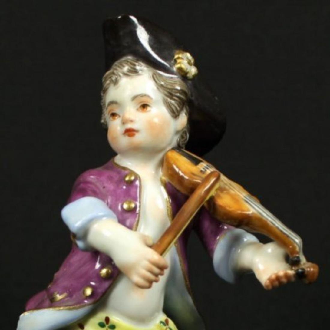Meissen Figure of Violin Player