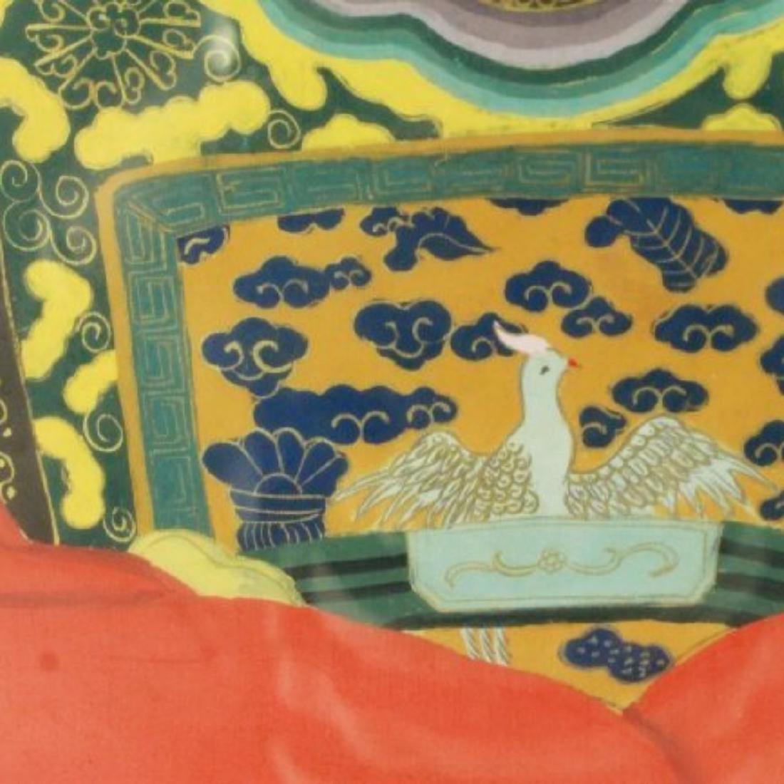FRAMED CHINESE ANCESTOR PRINT - 3
