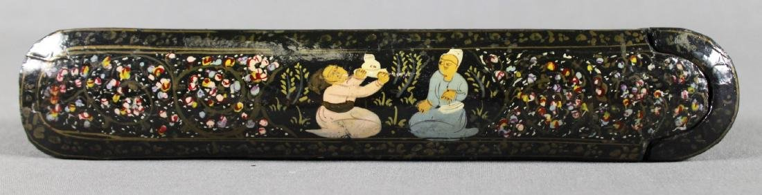 PAIR OF QAJAR PEN BOXES - 4