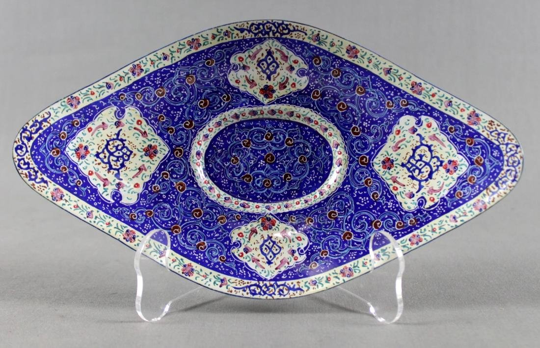 PERSIAN BOWL AND UNDERPLATE - 4