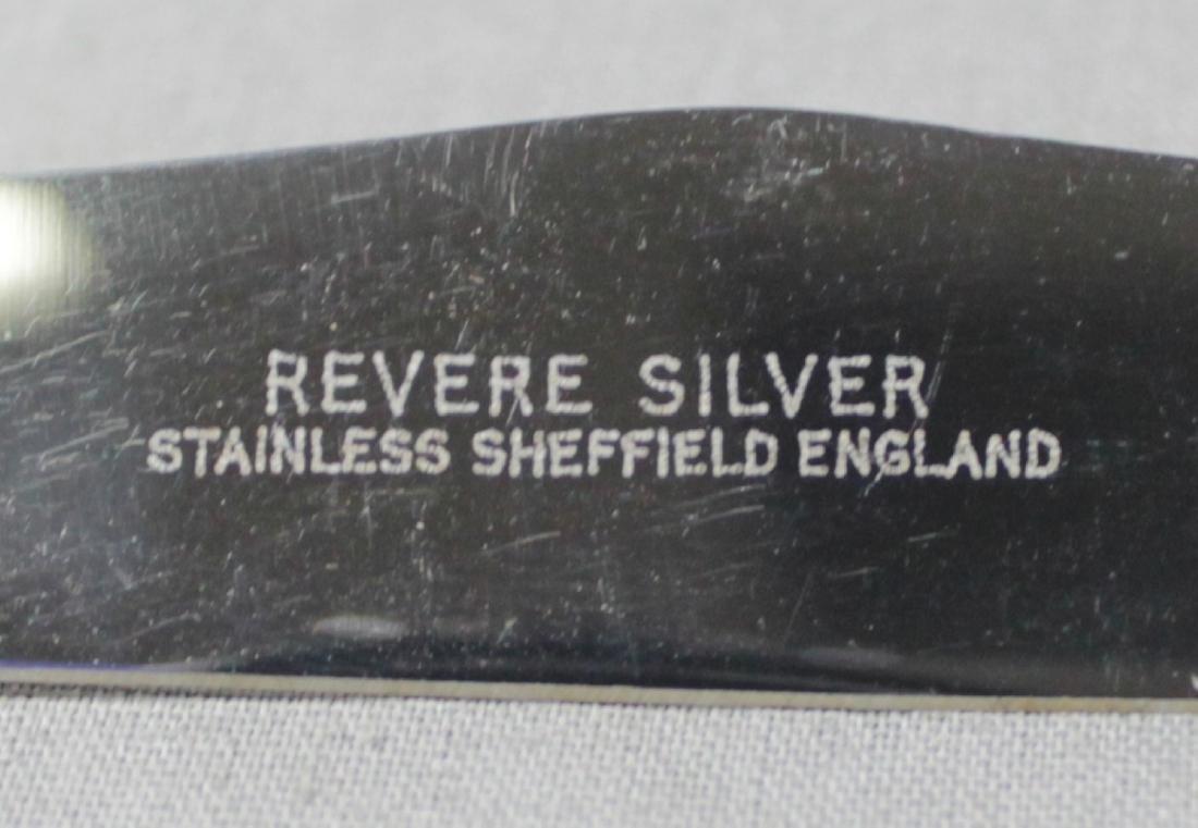 CARTIER SILVER 8 PC. KNIFE SET - 3