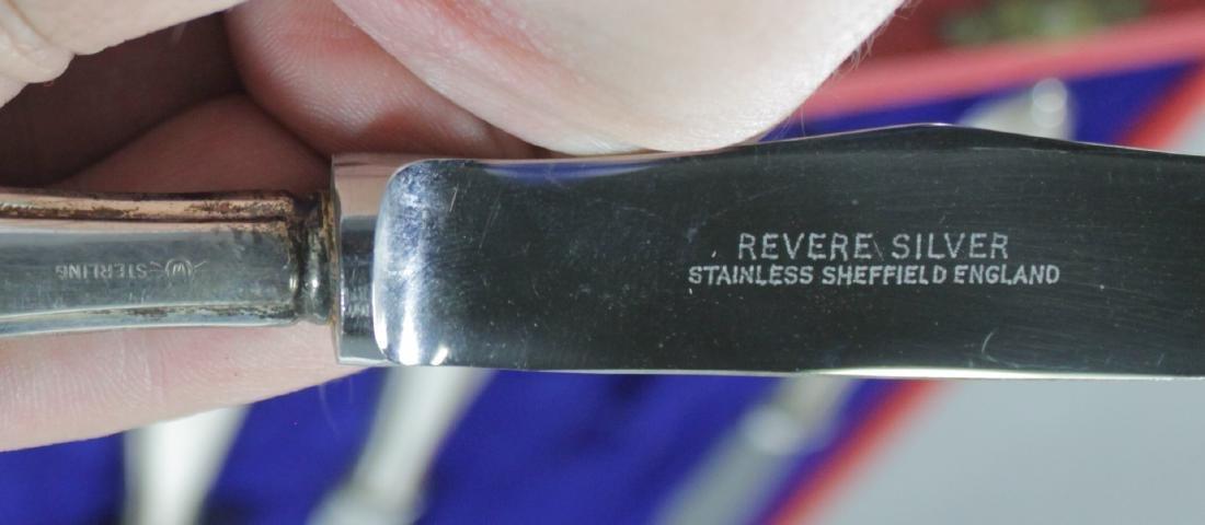CARTIER SILVER 8 PC. KNIFE SET - 4