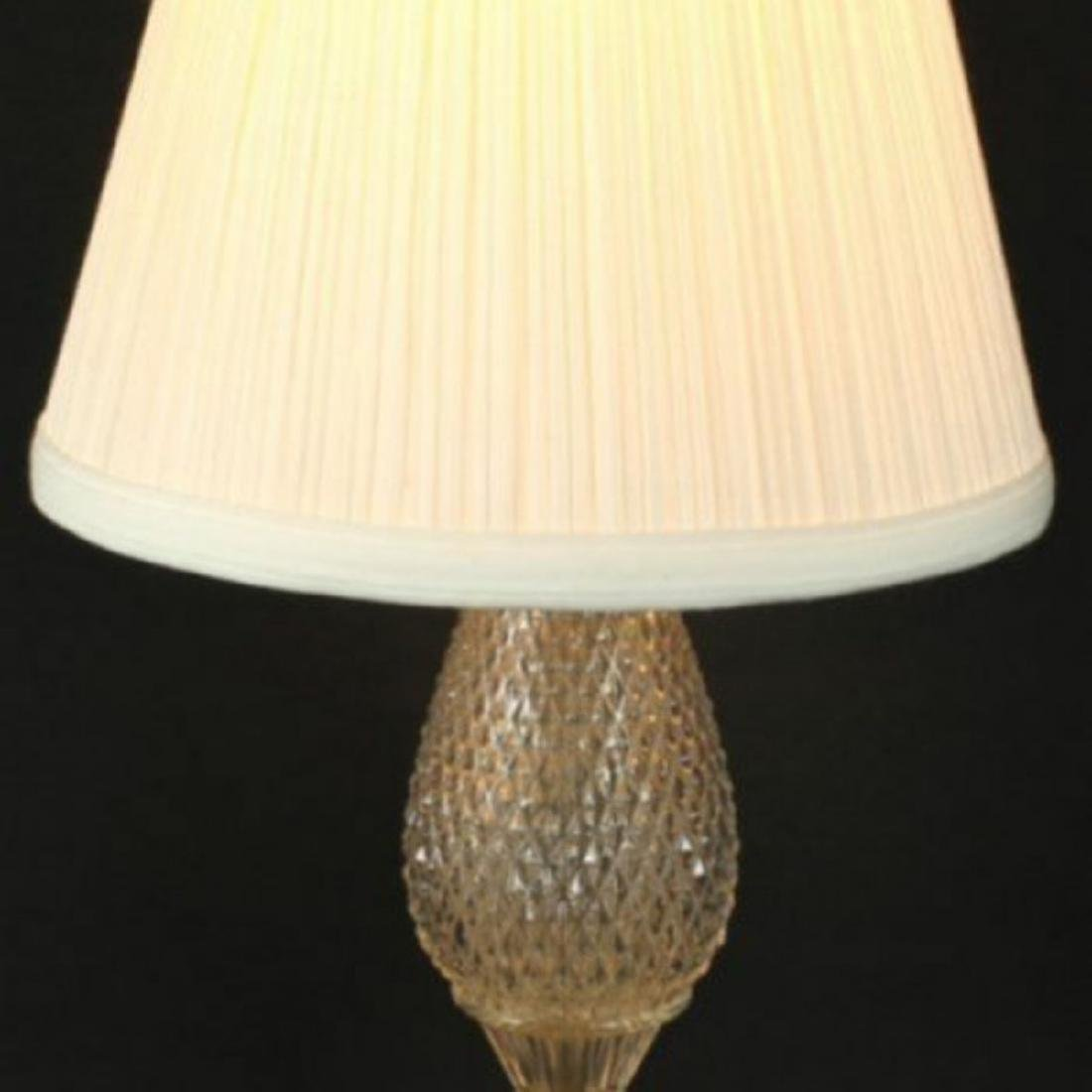 Antique Bronze and Cut Glass Lamps - 2