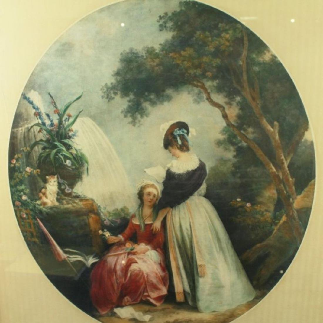 PAINTING OF 2 WOMEN SIGNED - 2