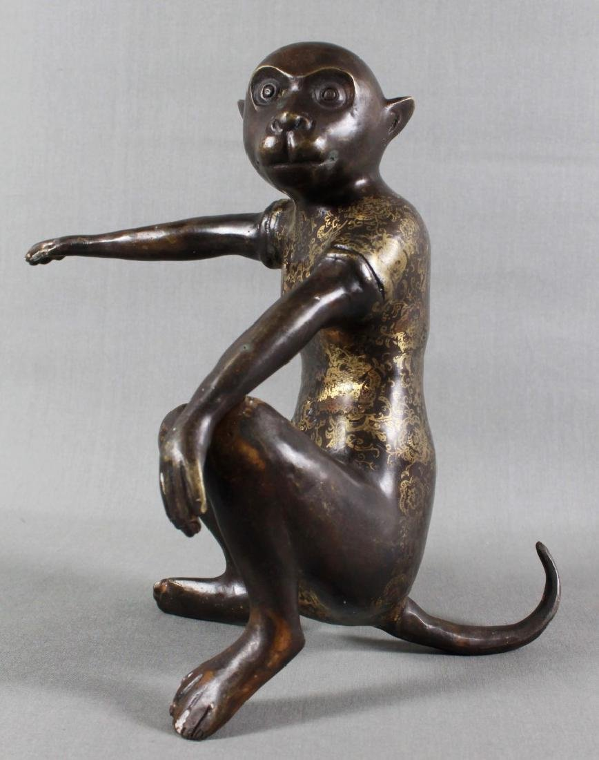 19TH C. CHINESE MONKEYS - 2