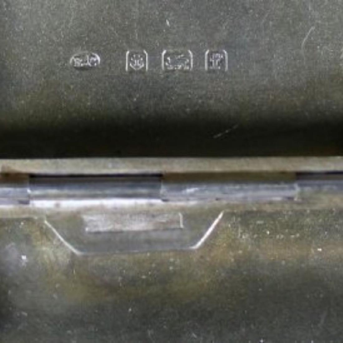 STERLING CIGARETTE BOX - 4
