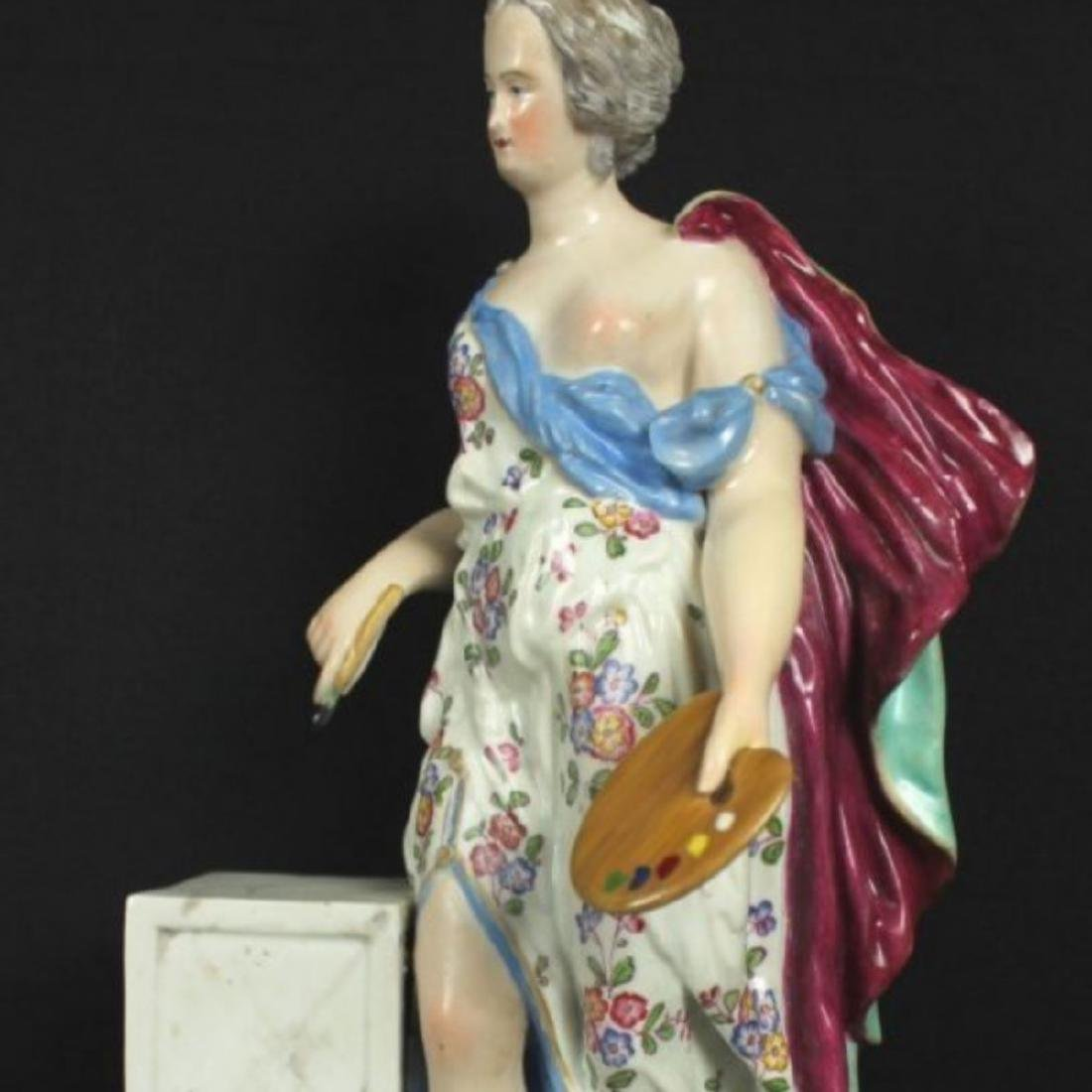 ANTIQUE MEISSEN FIGURE - 2