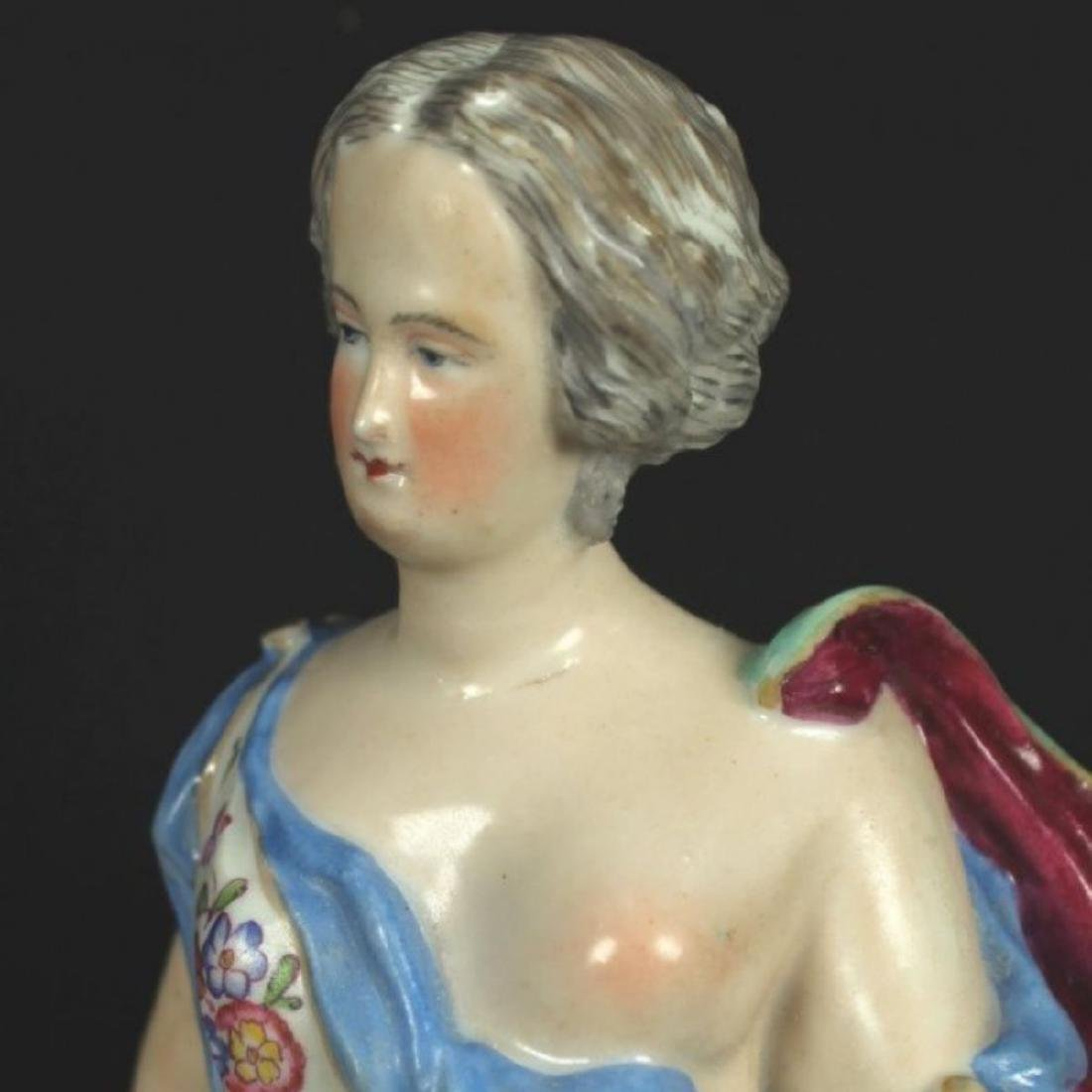 ANTIQUE MEISSEN FIGURE - 3