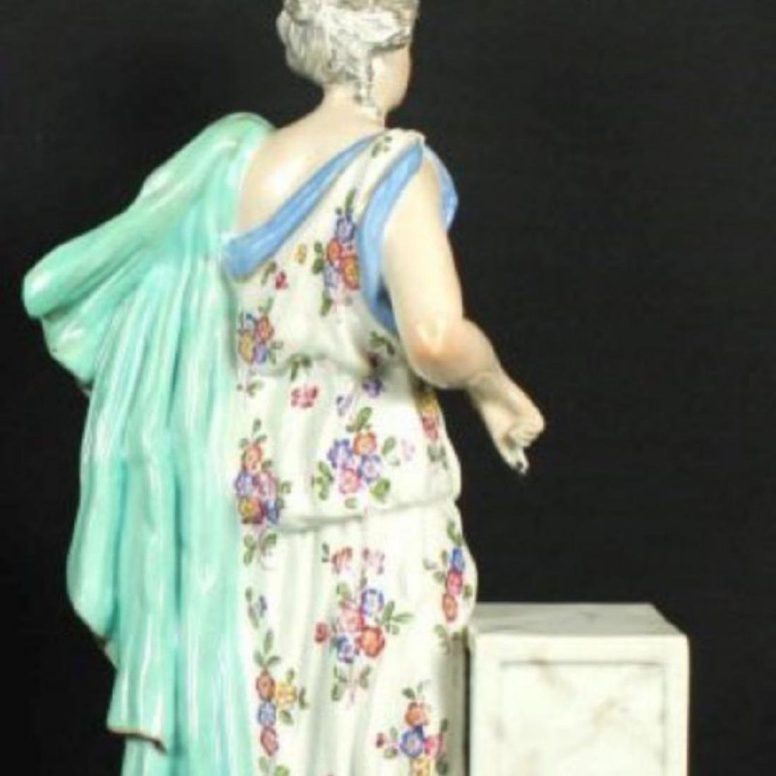 ANTIQUE MEISSEN FIGURE - 4