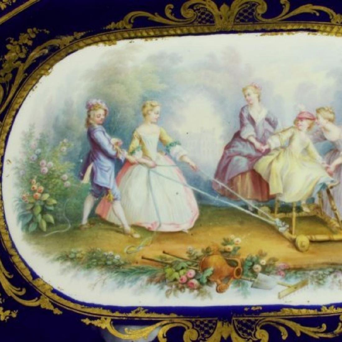 CONTINENTAL PORCELAIN TRAY - 2
