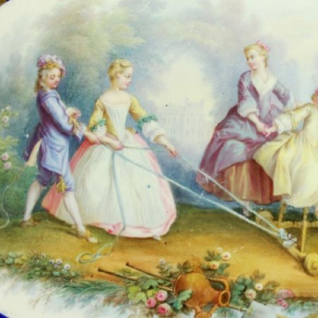 CONTINENTAL PORCELAIN TRAY - 5