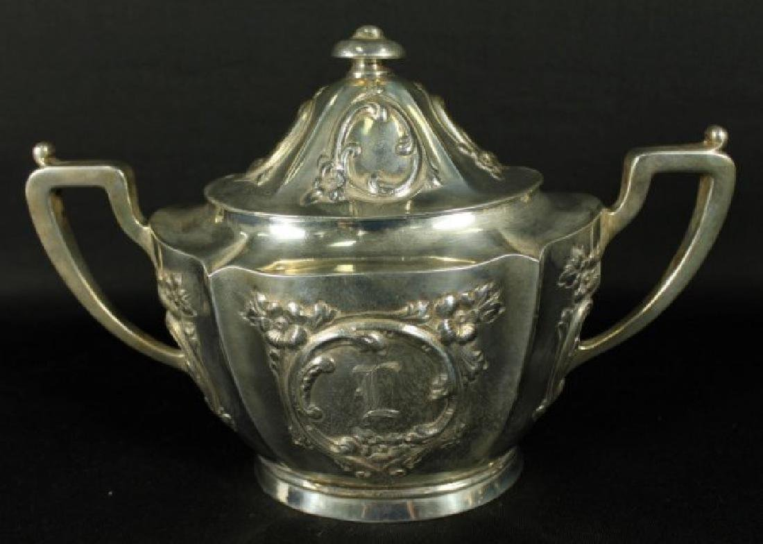 6 PC. STERLING SILVER TEASET - 6