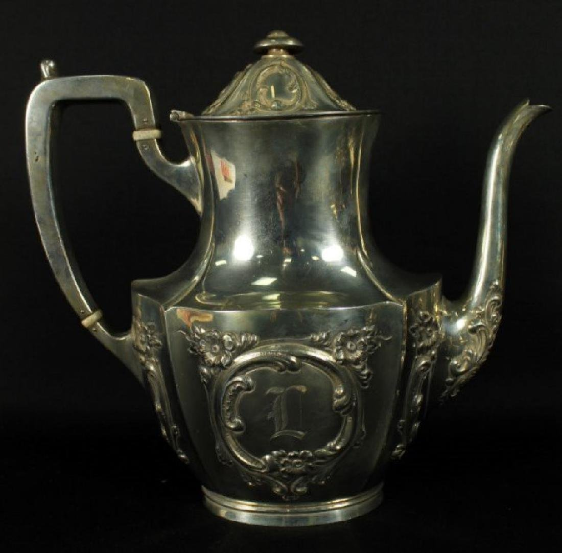6 PC. STERLING SILVER TEASET - 8