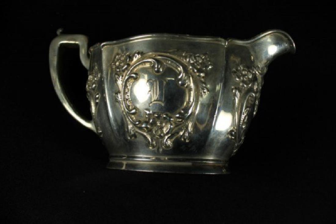 6 PC. STERLING SILVER TEASET - 9