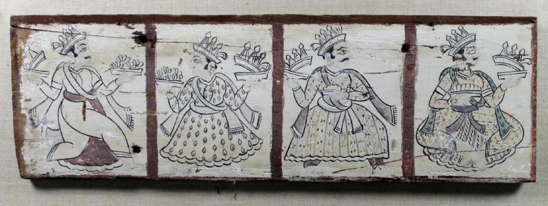 MULTIPANEL PERSIAN PAINTINGS ON WOOD - 3