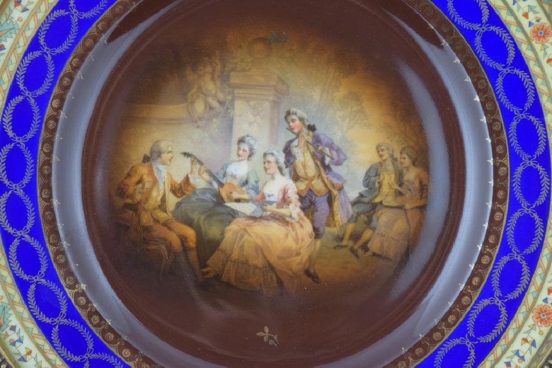 LATE 19TH C. ROYAL VIENNA PORCELAIN FRIEDRICH SIMON - 2