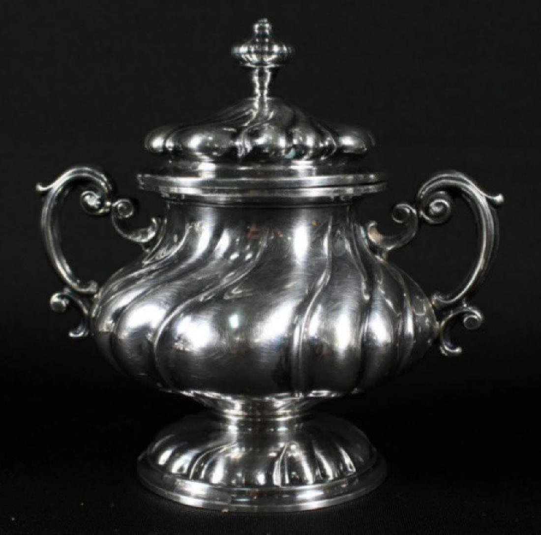 6 PC. STERLING SILVER TEASET - 3