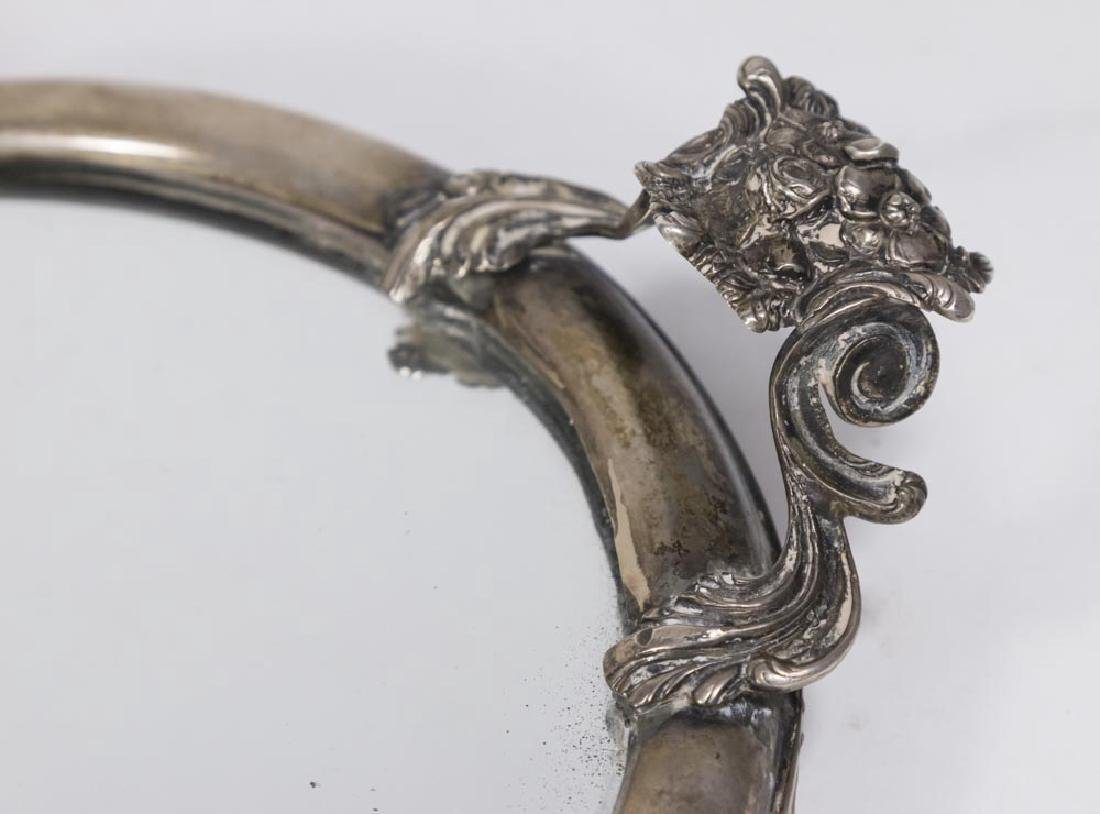 800 Silver Mounted Surtout with Floral Motif - 3