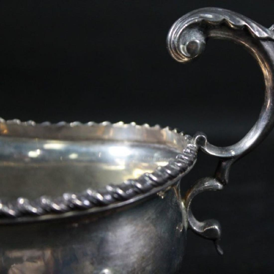 GOERGE NATHAN SILVER CREAMER - 3
