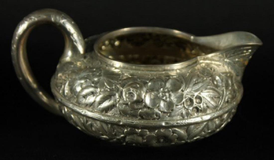 19TH CENTURY GORHAM ENGLISH SILVER STERLING 5 PIECE TEA - 3